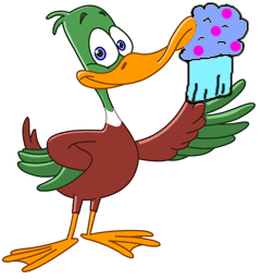 Free Duck Birthday Party Printables- Food Ideas and Decoration Ideas