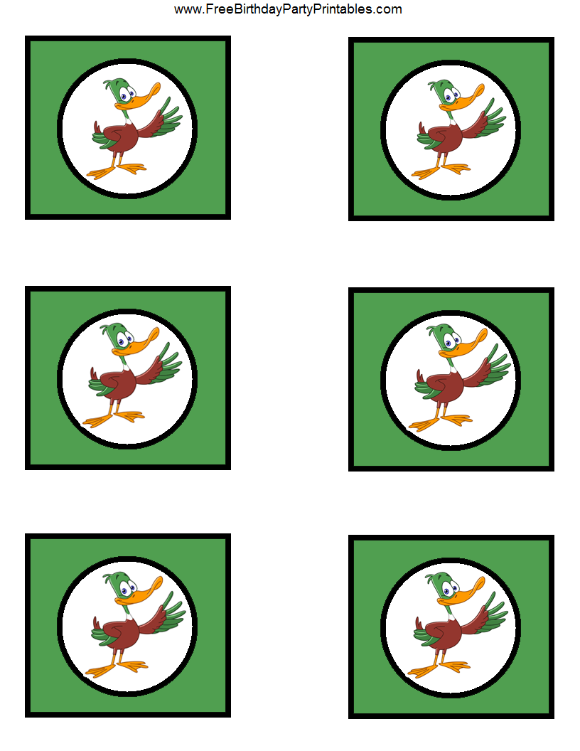 Duck Hunting Birthday Party Printables   Hunting Party Printables