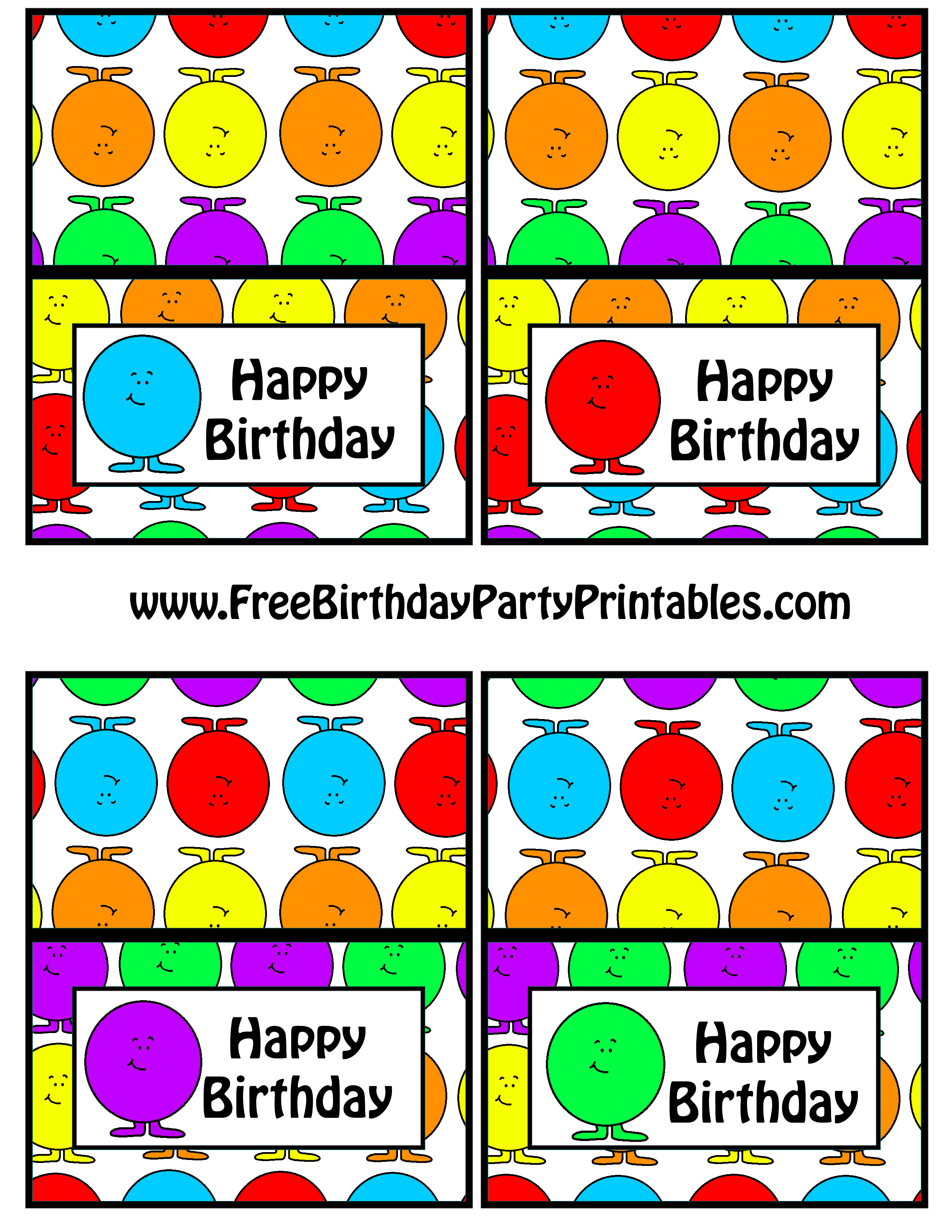 free gumball birthday party printables free birthday party printables