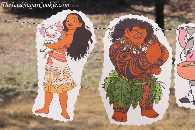 Moana Birthday Party DIY Idea