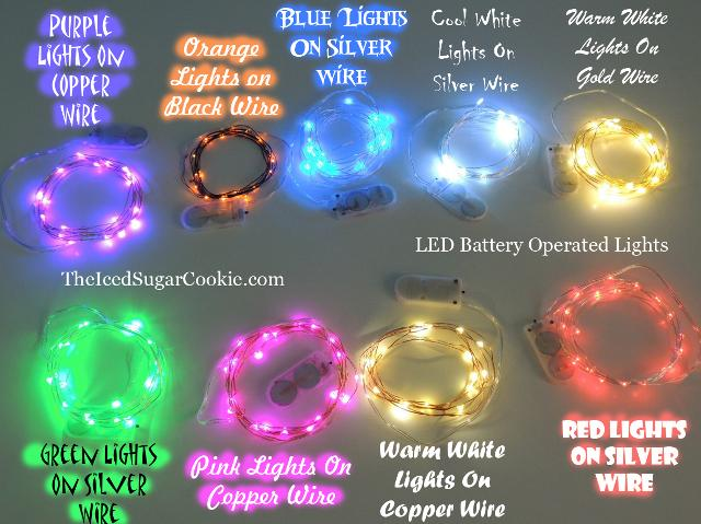 LED Battery Operated Party Lights