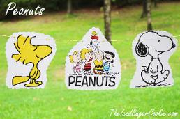 Peanuts Snoopy Woodstock Charlie Brown Lucy Birthday Party Banner DIY Ideas